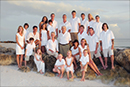 large family portrait on Marco Beach