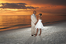 Bride and Groom Marco Island sunset